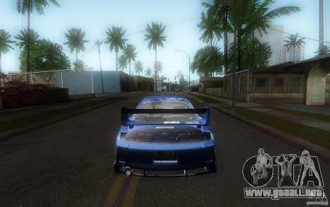 Toyota Supra Chargespeed para la vista superior GTA San Andreas