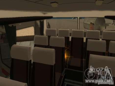 LAZ 699R 98021 para la vista superior GTA San Andreas