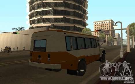 Kavz 3976 KAVZOZIL para GTA San Andreas vista hacia atrás
