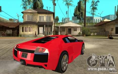 Lamborghin Murcielago LP640 v2 para la visión correcta GTA San Andreas
