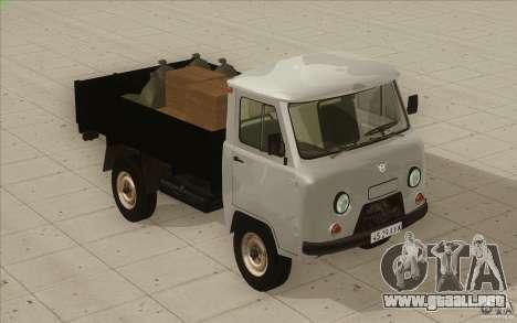 UAZ-3303 para GTA San Andreas interior