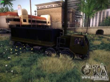 KrAZ 6316 para la visión correcta GTA San Andreas