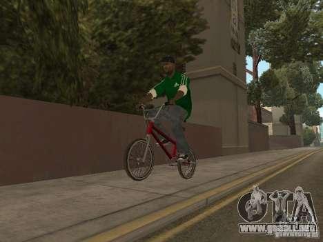 New Sweet para GTA San Andreas quinta pantalla