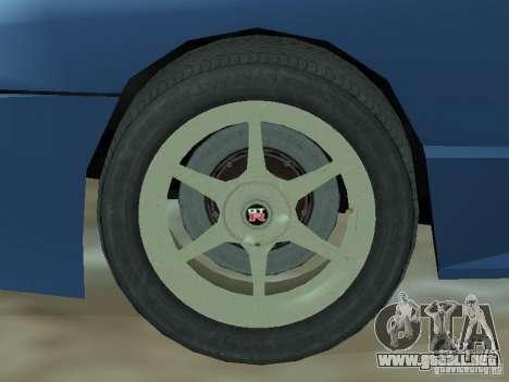 Elegía de tapas convertibles para visión interna GTA San Andreas