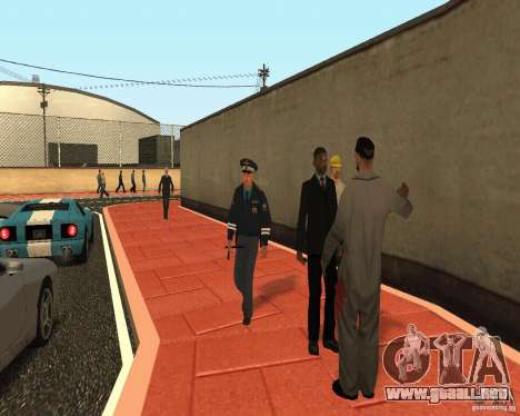 Mayor DPS para GTA San Andreas segunda pantalla
