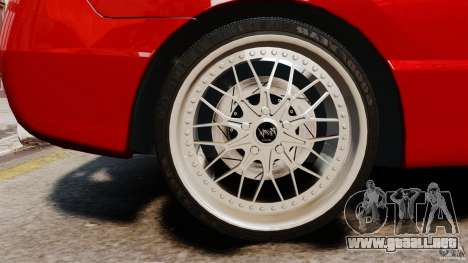 Honda Civic Si para GTA 4 vista hacia atrás