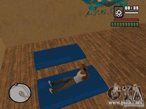 Training and Charging para GTA San Andreas tercera pantalla