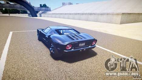 Ford GT1000 2006 Hennessey [EPM] EXTREME VERSION para GTA 4 vista lateral