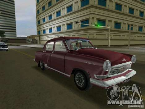 Gaz-21r 1965 para GTA Vice City left
