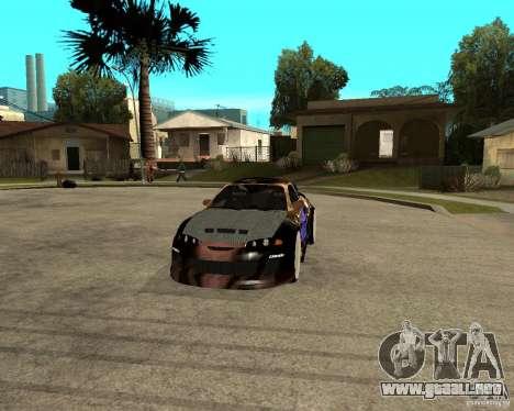 Mitsubishi Eclipse RZ 1998 para GTA San Andreas vista hacia atrás