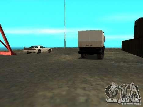 Renovación de la base militar en el puerto para GTA San Andreas novena de pantalla