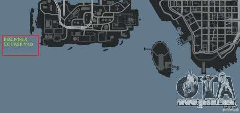 Beginner Course v1.0 para GTA 4 novena de pantalla