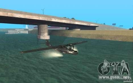 PBY Catalina para GTA San Andreas left