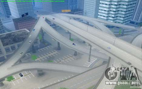 Caminos concretos de Los Santos Beta para GTA San Andreas