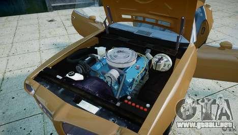 Pontiac Firebird 1970 para GTA 4 vista hacia atrás