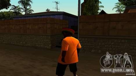 Jamaican Guy para GTA San Andreas tercera pantalla