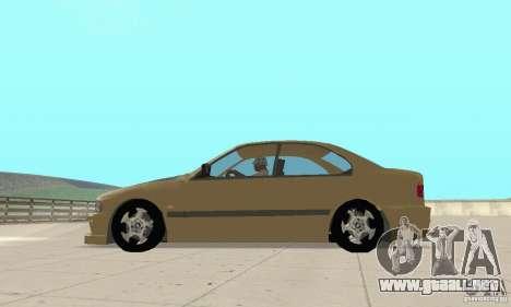 Bmw 528i para GTA San Andreas left