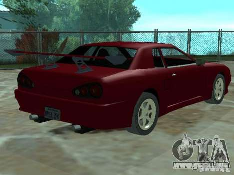 Elegía de tapas convertibles para vista lateral GTA San Andreas