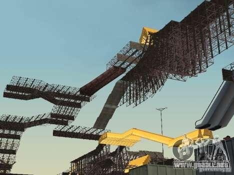 Huge MonsterTruck Track para GTA San Andreas segunda pantalla