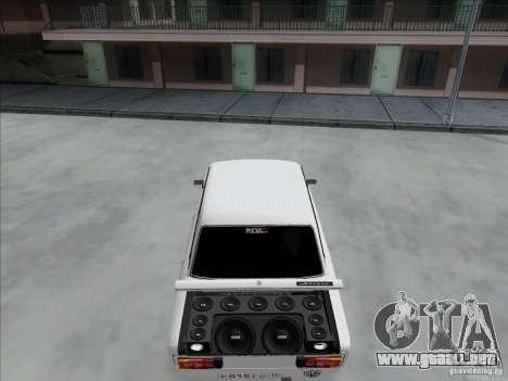 BPAN VAZ 2106 para visión interna GTA San Andreas
