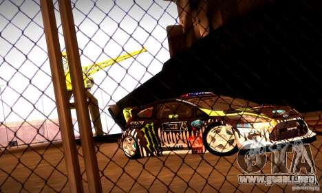 Ford Fiesta Gymkhana 4 para GTA San Andreas left