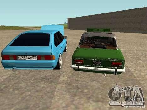 Moskvich 2141 para el motor de GTA San Andreas