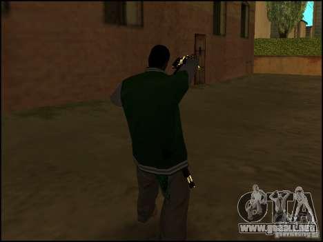 Arma en la mano para GTA San Andreas