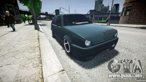 Volkswagen Golf 2 Low is a Life Style para GTA 4