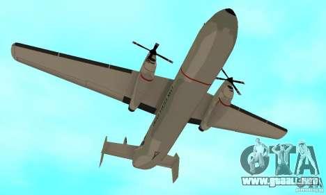 C-2 Greyhound para visión interna GTA San Andreas