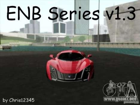ENBSeries v1.3 para GTA San Andreas