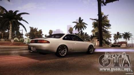 Nissan Silvia S14 Zenk para la visión correcta GTA San Andreas