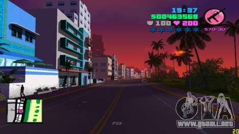 Radar cuadrado para GTA Vice City segunda pantalla