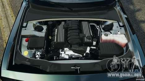 Dodge Challenger SRT8 392 2012 Police [ELS][EPM] para GTA 4 vista superior