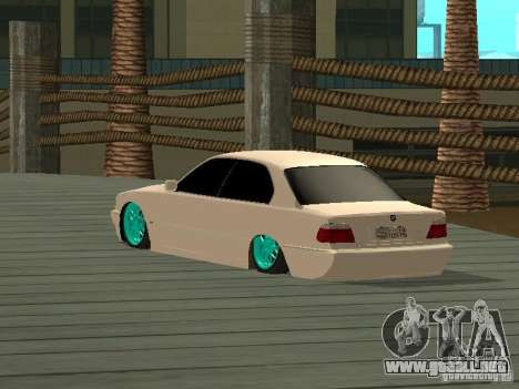 BMW 750i JDM para GTA San Andreas left