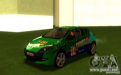 Renault Megane RS para vista lateral GTA San Andreas