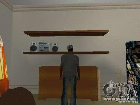 Noize Mc Tee para GTA San Andreas segunda pantalla