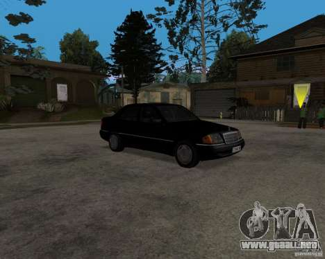 Mercedes-Benz C220 W202 1996 para GTA San Andreas left