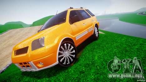 Ford EcoSport para GTA 4 Vista posterior izquierda