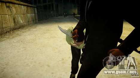 B.A.K. Knife para GTA 4 tercera pantalla