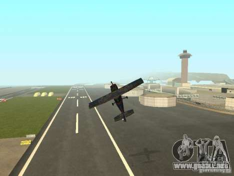 Un nuevo avión-Dodo para vista inferior GTA San Andreas