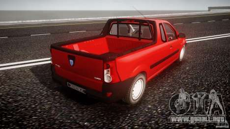 Dacia Logan Pick-up ELIA tuned para GTA 4 vista superior