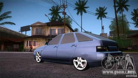 VAZ-2112 LT para GTA San Andreas vista posterior izquierda