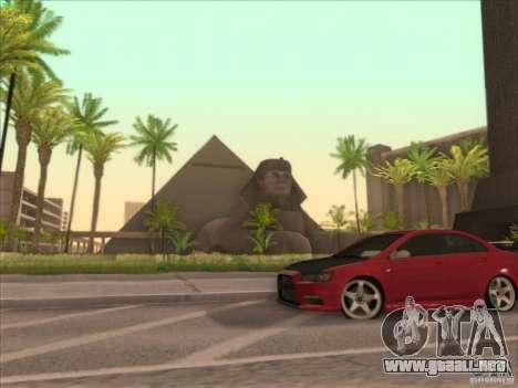 SGR ENB Settings para GTA San Andreas sexta pantalla