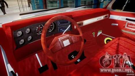 Chevrolet Silverado 1977 para GTA 4 visión correcta