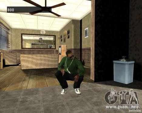 Interiores ocultos 3 para GTA San Andreas segunda pantalla