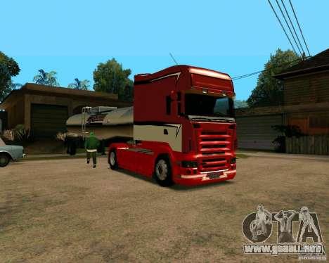 Scania TopLine para GTA San Andreas left