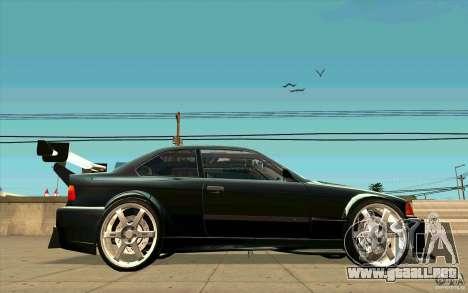 NFS:MW Wheel Pack para GTA San Andreas segunda pantalla