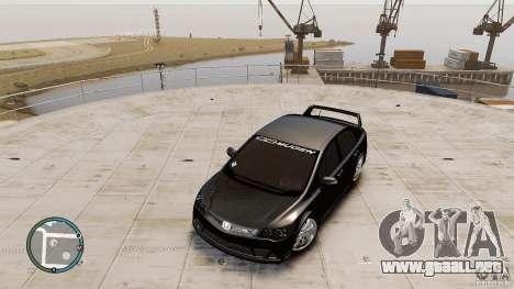 Honda Civic Mugen RR para GTA 4 visión correcta
