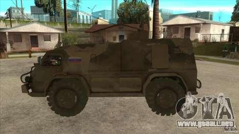 GAZ 39371 Vodnik para GTA San Andreas left
