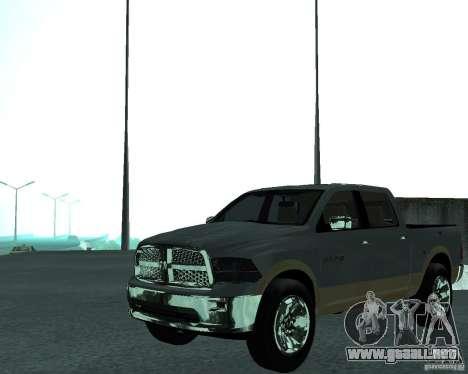Dodge Ram Hemi para la visión correcta GTA San Andreas